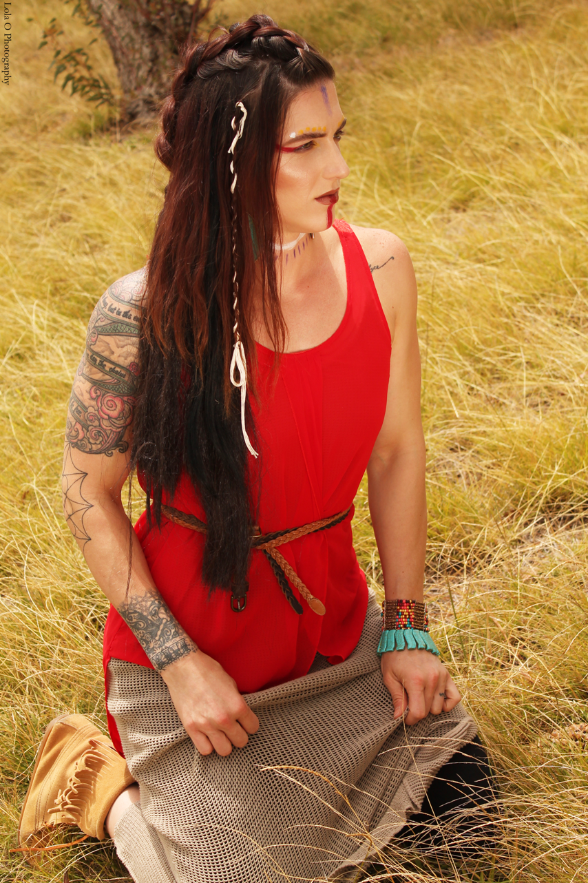 Lola O Photography - Tribal Shoot with Danae